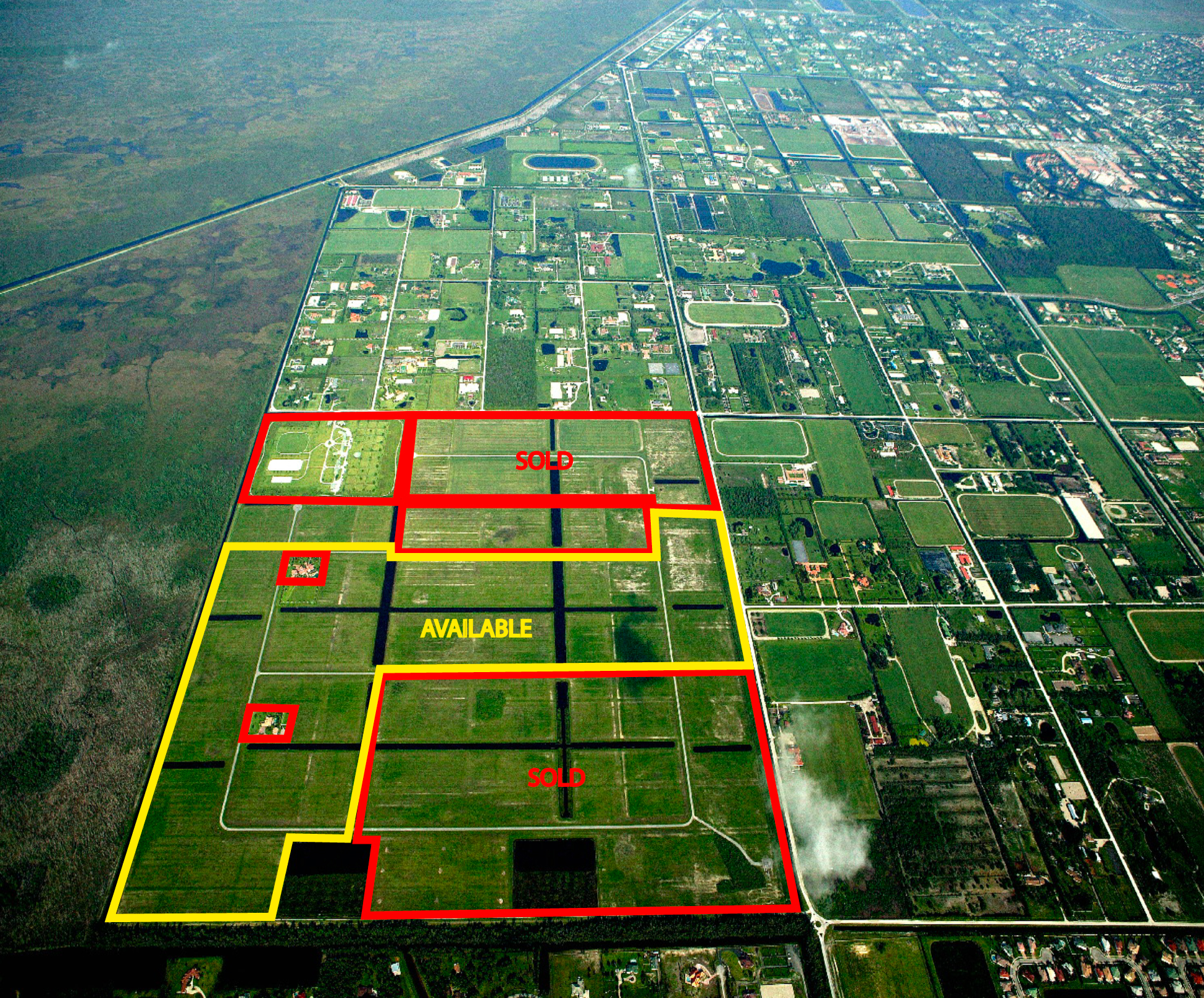 Wellington Equestrian Properties Polo Agricultural Land