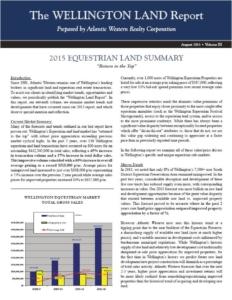 Land report 2015