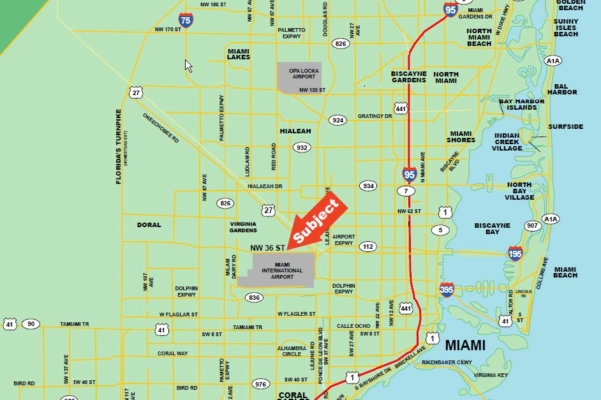 Foreclosed 1.5 acre Commercial Tract Miami-Dade County-Florida