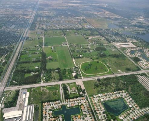 Turnpike Frontage-Lake Worth-Florida
